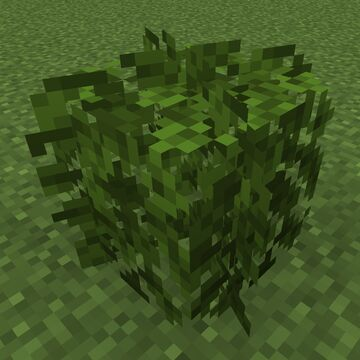 Better Leaves Bush [ slightly rounded and not bulky ]    1.14 - 1.15 - 1.16 - 1.17 Minecraft Texture Pack