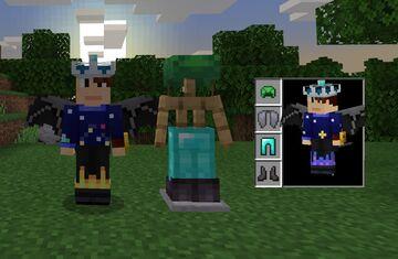 Hide Player Armor (Bedrock) Minecraft Texture Pack