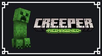 Creeper Reimagined Minecraft Texture Pack