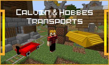 Calvin & Hobbes Transportation Pack Minecraft Texture Pack