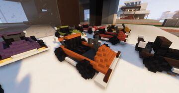 Minecart to Karts Minecraft Texture Pack