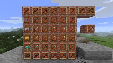 new tools Minecraft Texture Pack