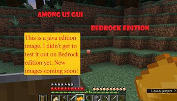 Among Us GUI [Bedrock] [WIP] Minecraft Texture Pack