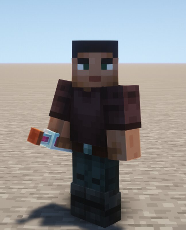 Player with 3D bottle