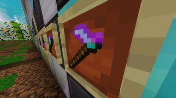 Different Enchantment Glint Minecraft Texture Pack