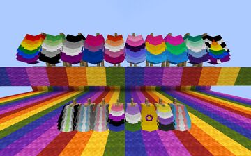 Pride Elytras Minecraft Texture Pack