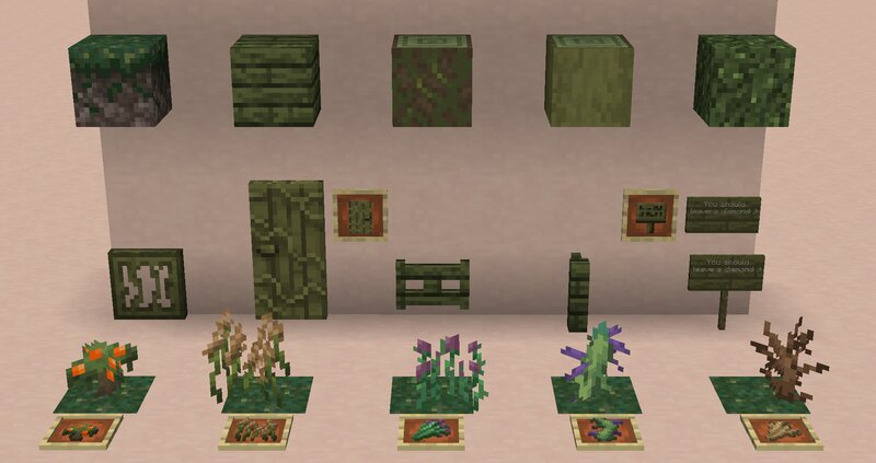 All Warped Forest Related Blocks