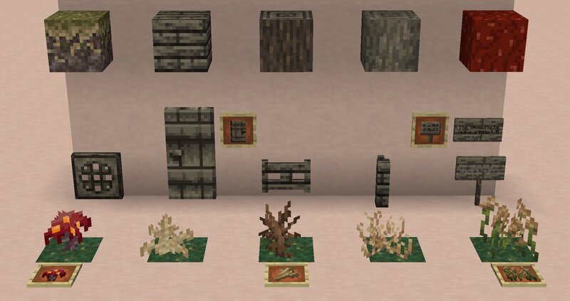 All Crimson Forest Related Blocks
