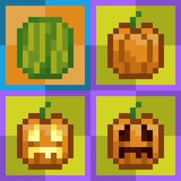 Pumpkin and Melon Inventory Item Minecraft Texture Pack