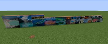 Beautiful Landscape Paintings Minecraft Texture Pack