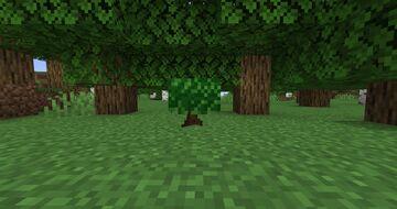 Azalea style saplings Minecraft Texture Pack