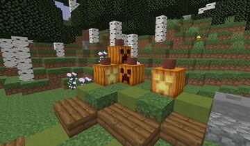 GreenPaste's Better Pumpkins Minecraft Texture Pack