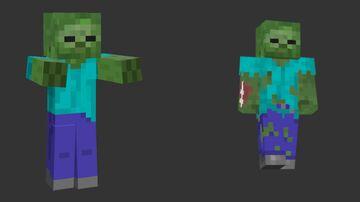 Updated Zombie Minecraft Texture Pack