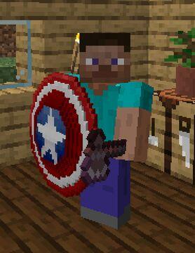 Captain America Shield [1.16+] Minecraft Texture Pack