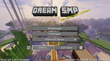 Dream SMP Pack v9 (Requires Optifine) Minecraft Texture Pack