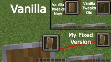 Fixed Lower Shield (Vanilla Tweaks edit) Minecraft Texture Pack