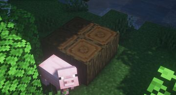 Circle Logs (ForeverVanilla) Minecraft Texture Pack