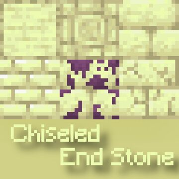 Chiseled End Stone [Optifine is required!] Minecraft Texture Pack