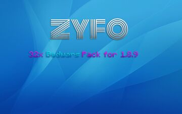ZYFO Bedwars 32x Pack for 1.8.9 Minecraft Texture Pack
