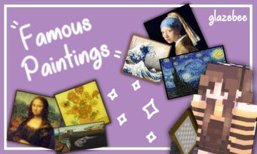 Famous Paintings Minecraft Texture Pack
