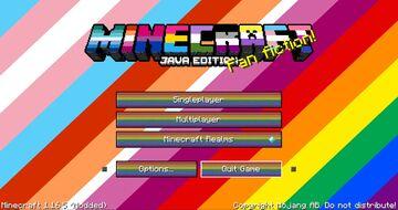 Pride Main Menu! Minecraft Texture Pack