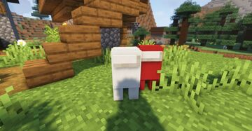 Chickens to Among Us characters Minecraft Texture Pack