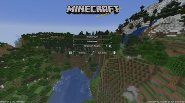 Cool Mountain Panorama Minecraft Texture Pack