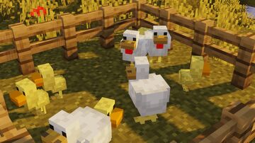 Better Baby Chickens Minecraft Texture Pack