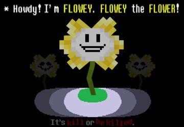 Flowey The Evoker Minecraft Texture Pack