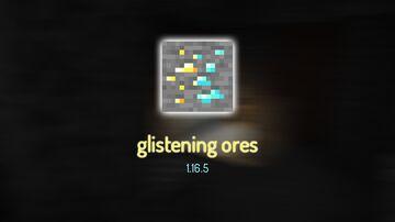Glistening Ores 1.16.5 Minecraft Texture Pack