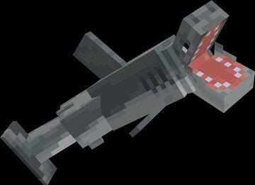 Sharks + Minecraft Texture Pack