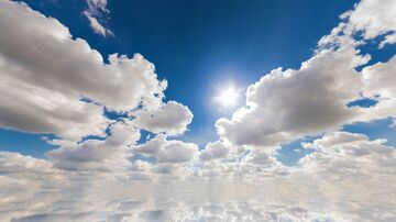 Real Clouds Sky Overlay (custom sky overlay!) Minecraft Texture Pack