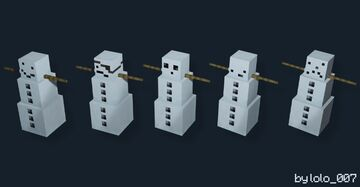 Snow People | Minecraft Bedrock Minecraft Texture Pack
