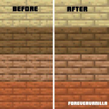 Smooth Planks (ForeverVanilla) Minecraft Texture Pack