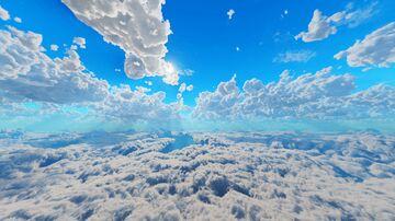 Fluffy Clouds Sky Overlay (custom sky overlay!) Minecraft Texture Pack
