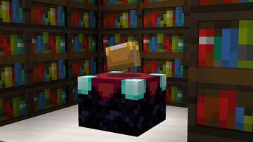 Dark Oak Bookshelf (3d) Minecraft Texture Pack