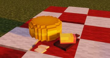 Cheese Model (Replaces Redstone Torch) Minecraft Texture Pack