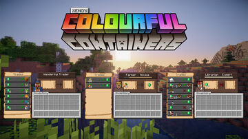 Colourful Containers Temporary Add-On Minecraft Texture Pack
