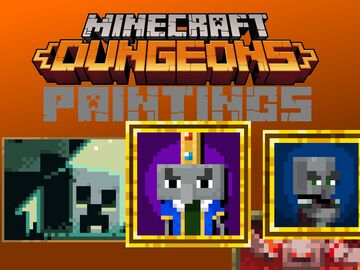 MC:Dungeons Paintings Minecraft Texture Pack