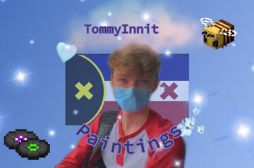 TommyInnit Paintings Minecraft Texture Pack