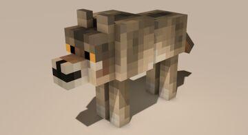 Grey Wolf Texture Minecraft Texture Pack