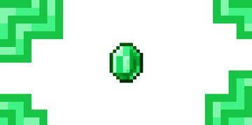 Diamonds to Emeralds Minecraft Texture Pack