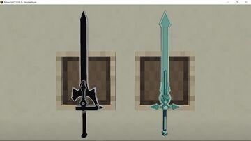 Sword Art Online Elucidator and Dark Repulser version 2 Minecraft Texture Pack