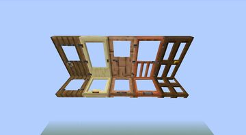 Clear Doors Minecraft Texture Pack
