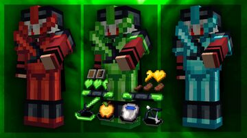 Hason 16x [green] By SpacyLmao FPS friendly Minecraft Texture Pack