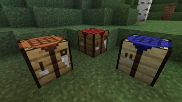 Biome dependant crafting tables Minecraft Texture Pack