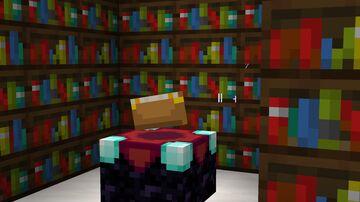 Dark Oak Bookshelf Minecraft Texture Pack