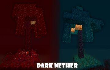 Dark Nether Minecraft Texture Pack