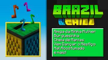 Brazil & Chill [Java & Bedrock] Minecraft Texture Pack