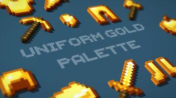 Uniform Gold Palette Minecraft Texture Pack